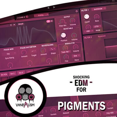 Shocking EDM For Pigments