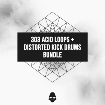 303 Acid Loops & Distorted Kick Drums Bundle