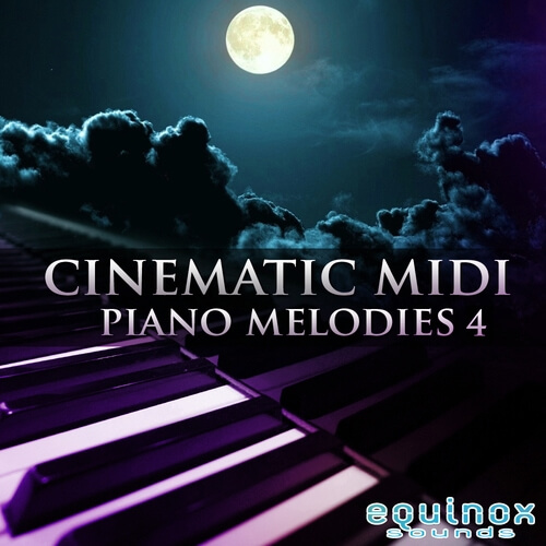 Cinematic MIDI Piano Melodies 4