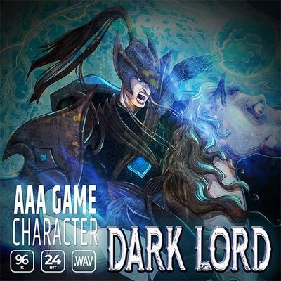 AAA Game Character Dark Lord