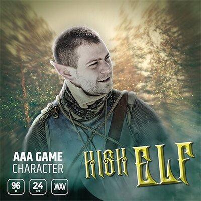 AAA Game Character High Elf