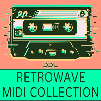 Retrowave MIDI Collection