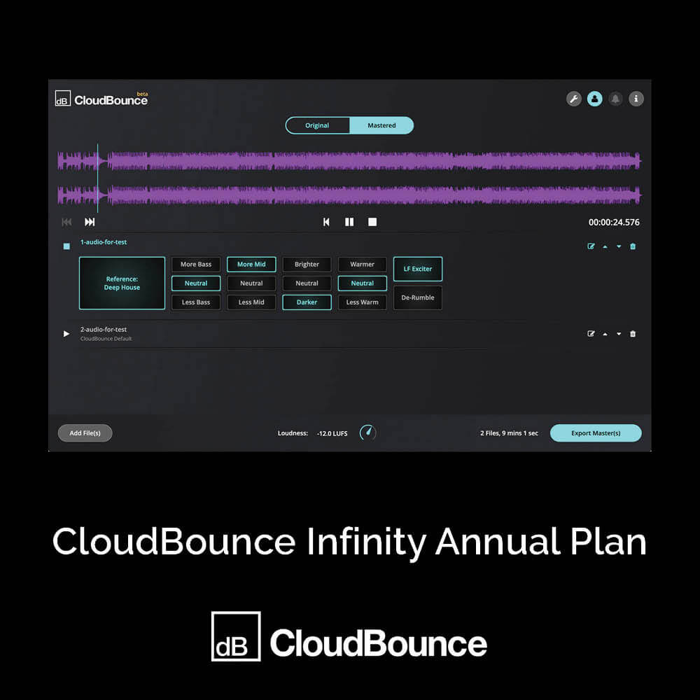 CloudBounce Infinity Annual Plan