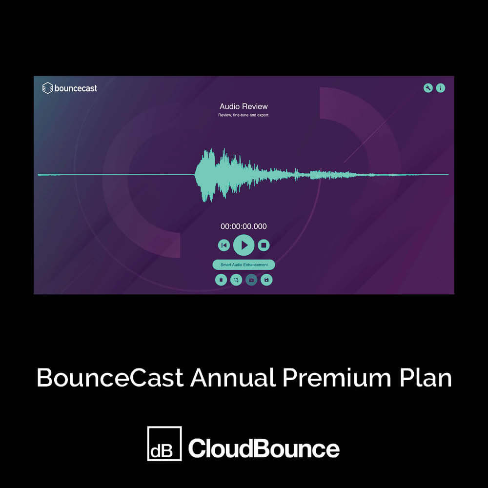 BounceCast Annual Premium Plan