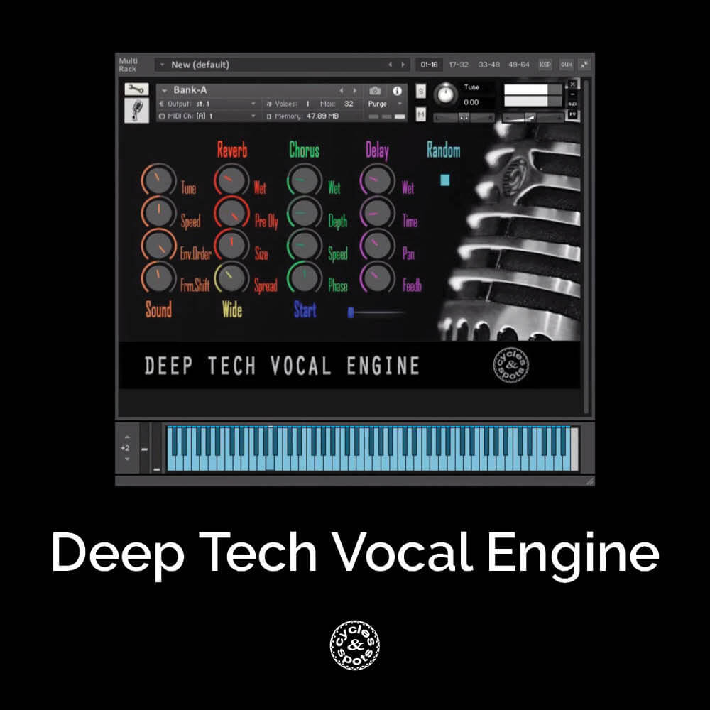 Deep Tech Vocal Engine