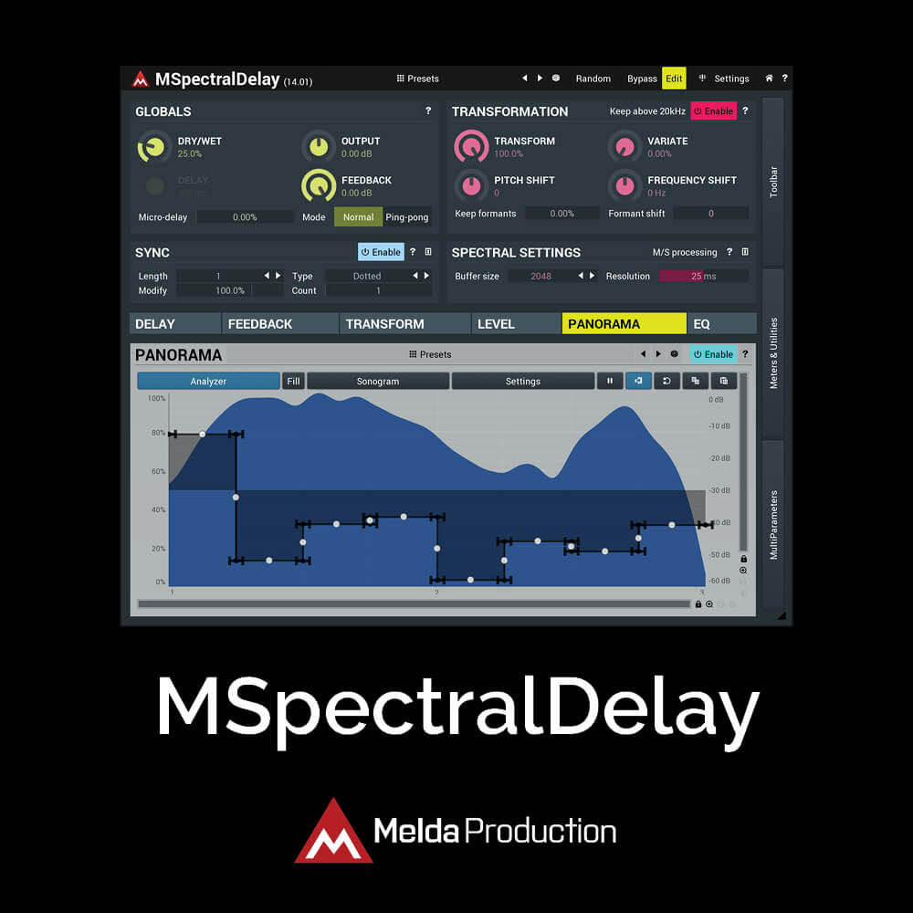 MSpectralDelay
