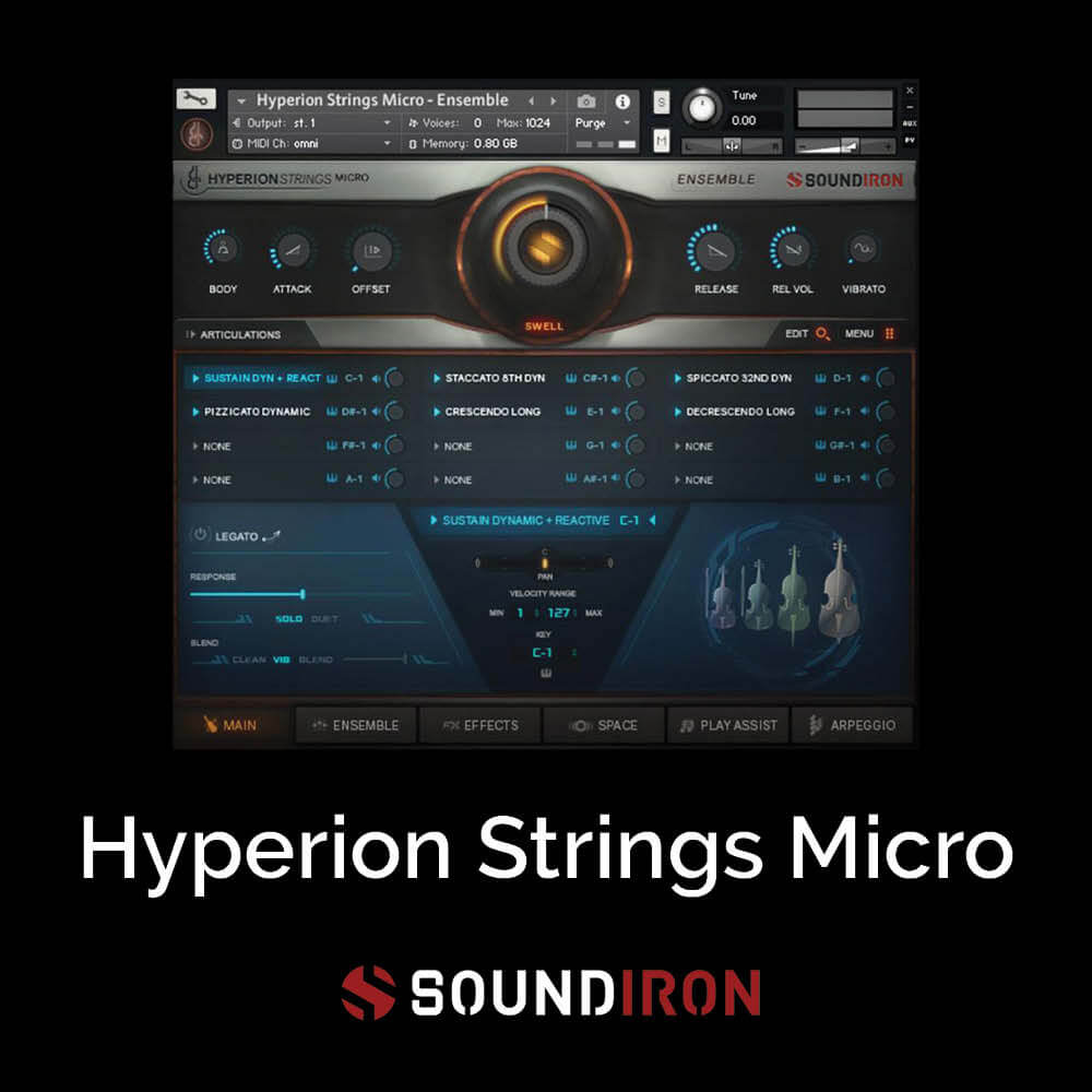 Hyperion Strings Micro
