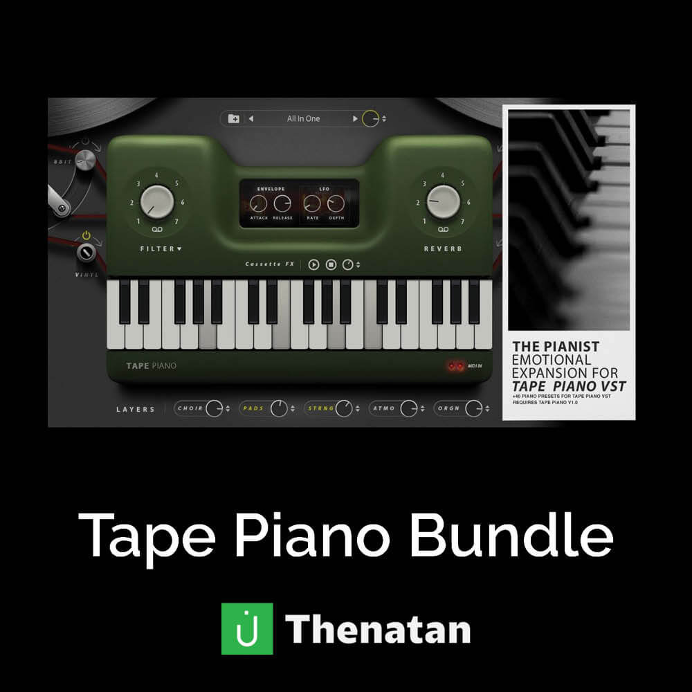 Tape Piano Bundle