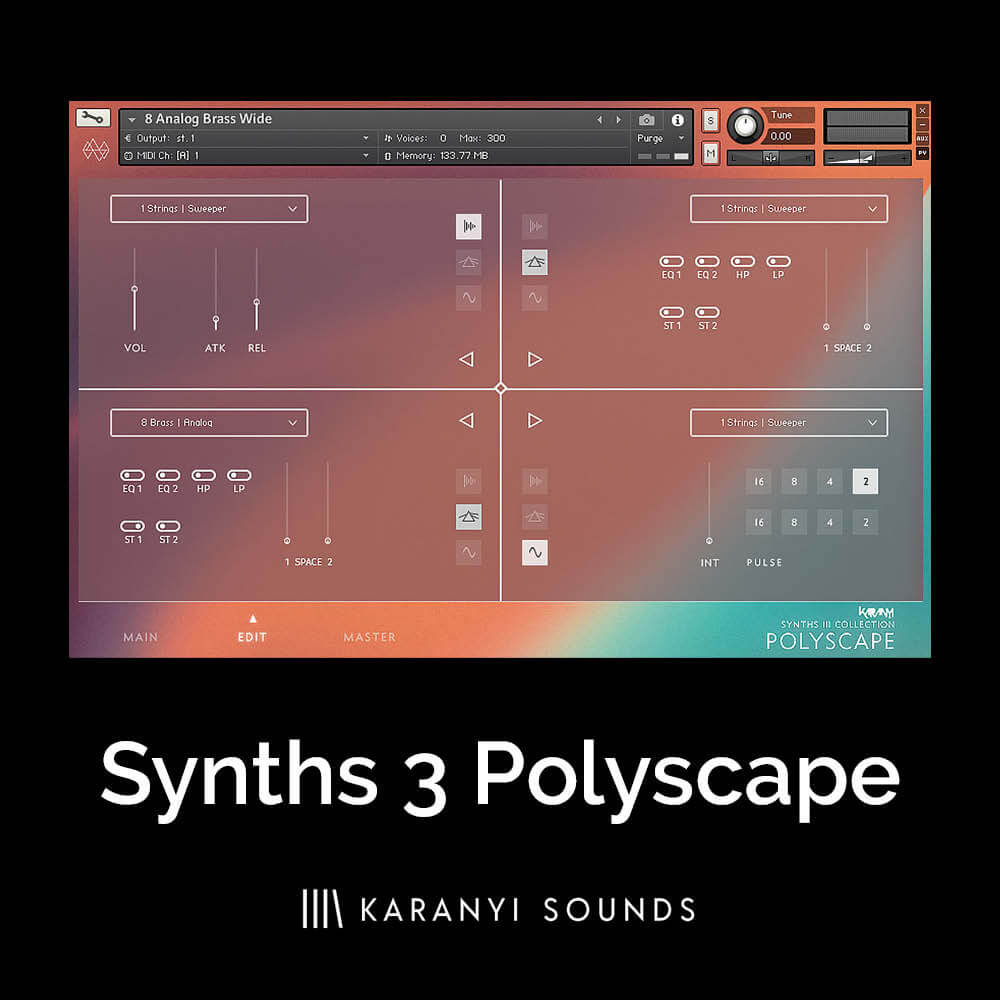 Synths 3 Polyscape