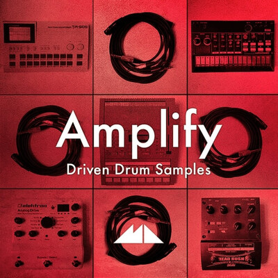 Amplify - Driven Drum Samples