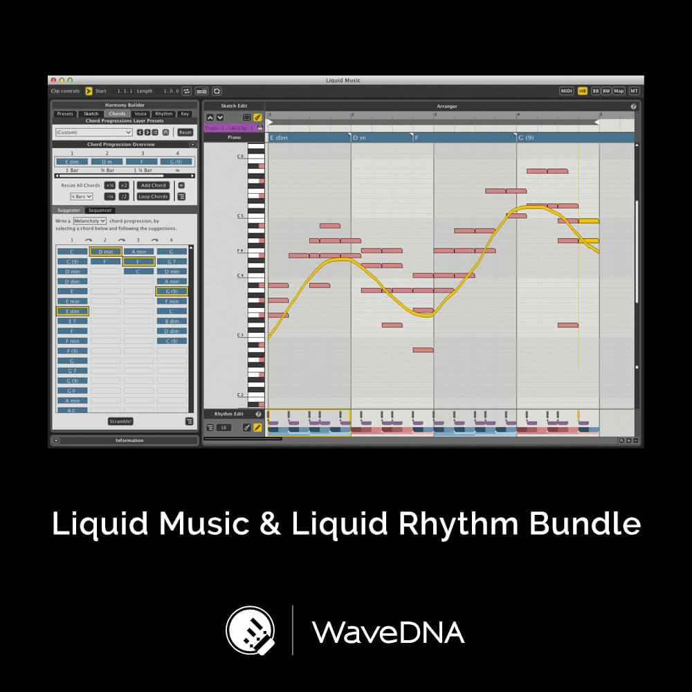 Liquid Music & Liquid Rhythm Bundle