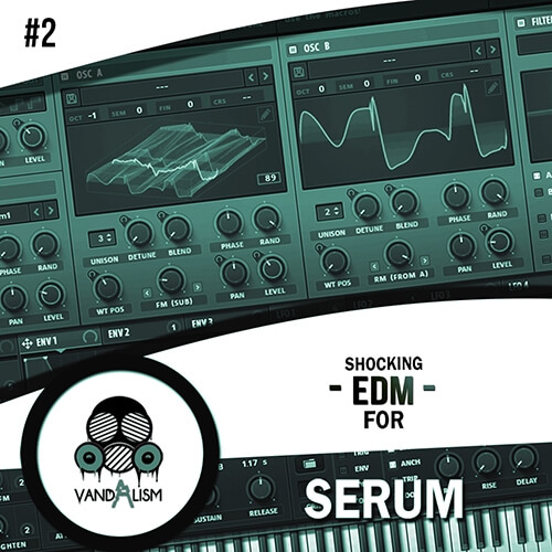 Shocking EDM For Serum 2