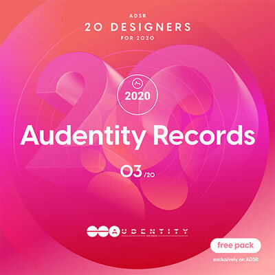 ADSR 20 Designers for 2020 - AUDENTITY RECORDS