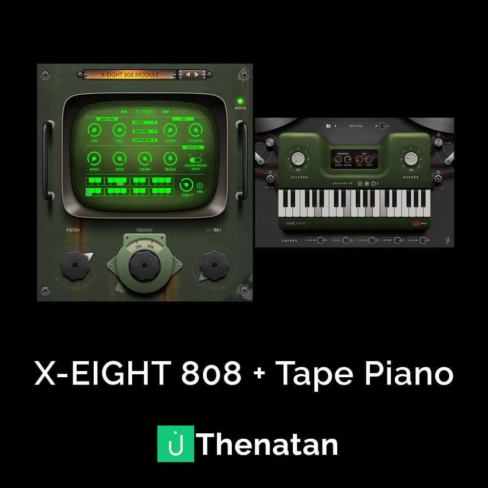 X-EIGHT 808 + Tape Piano