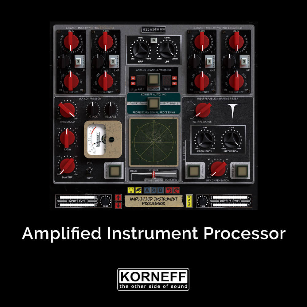 Amplified Instrument Processor