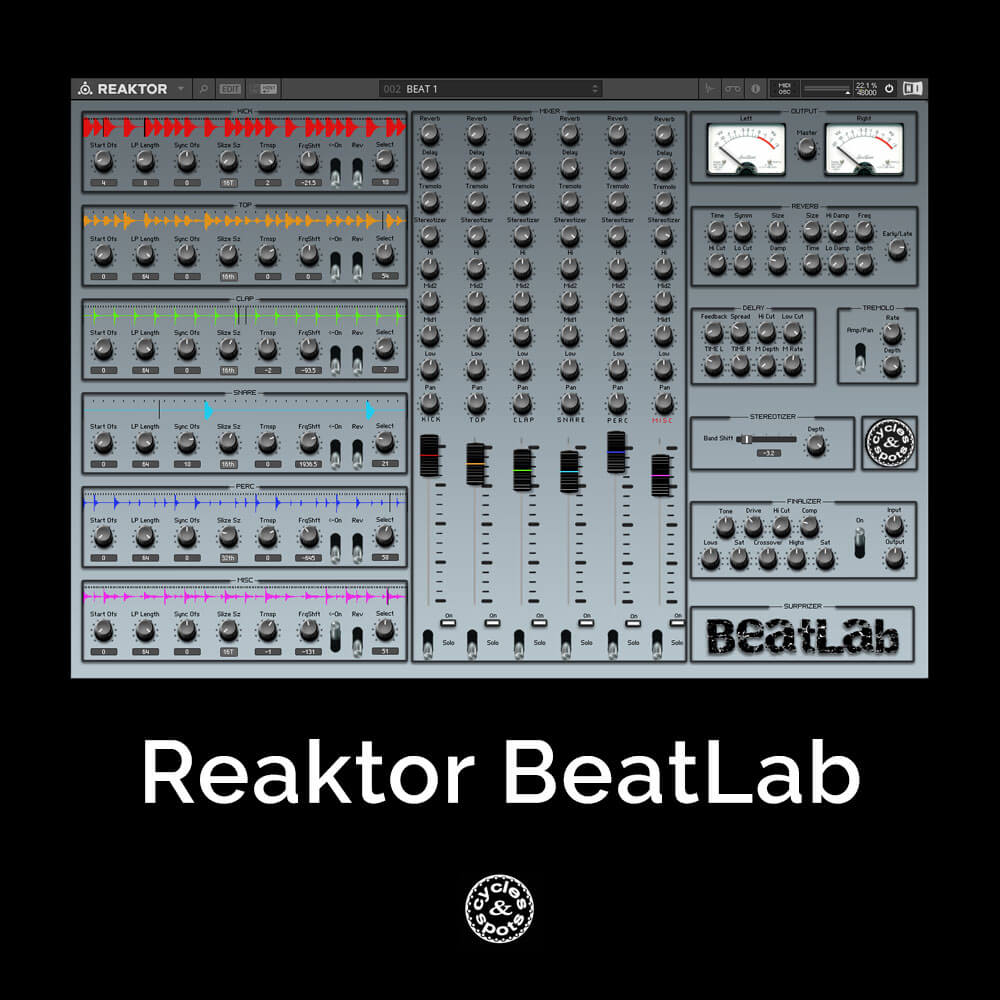 Reaktor BeatLab