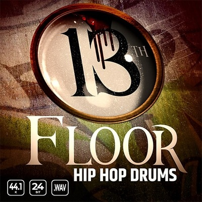 13th Floor Hip Hop Drums Vol. 1