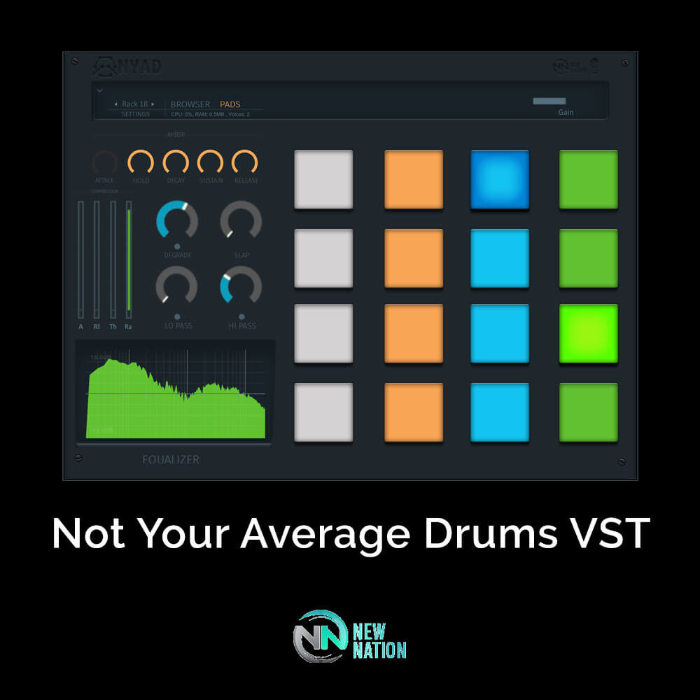 Not Your Average Drums VST