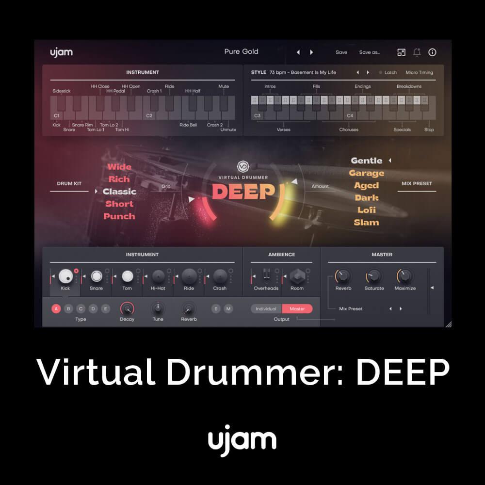 Virtual Drummer: DEEP