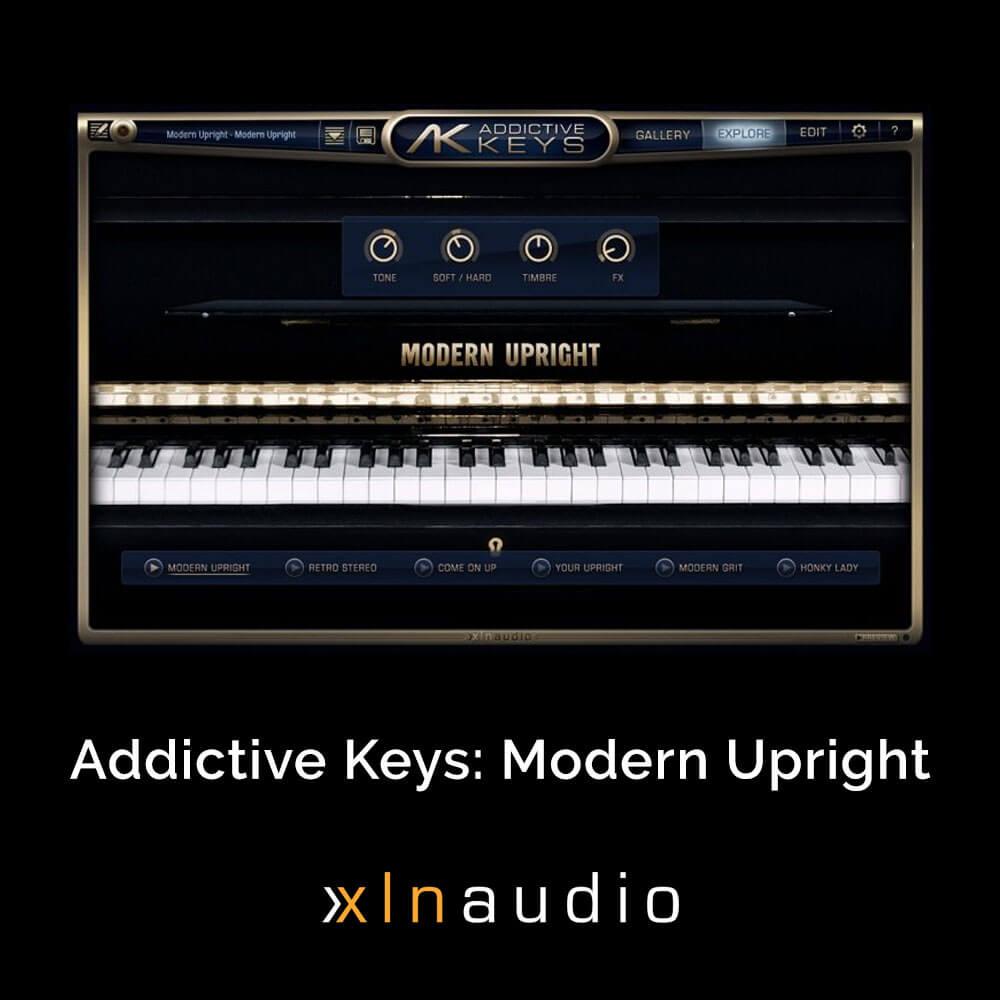 Addictive Keys: Modern Upright