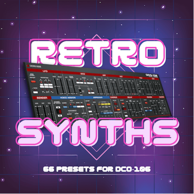 'Retro Synths' for DCO-106