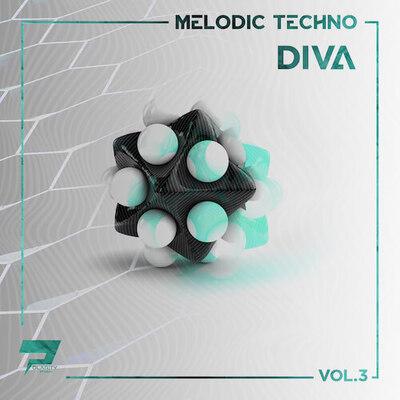 Melodic Techno Loops & Diva Presets Vol.3