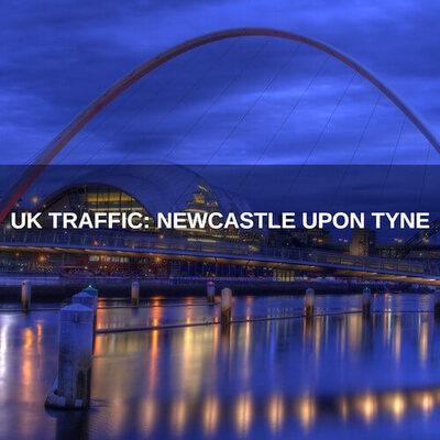 UK Traffic: Newcastle upon Tyne