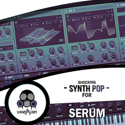Shocking Synth Pop For Serum