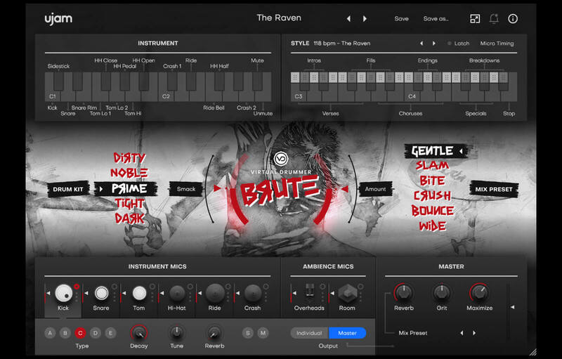 Virtual Drummer: BRUTE