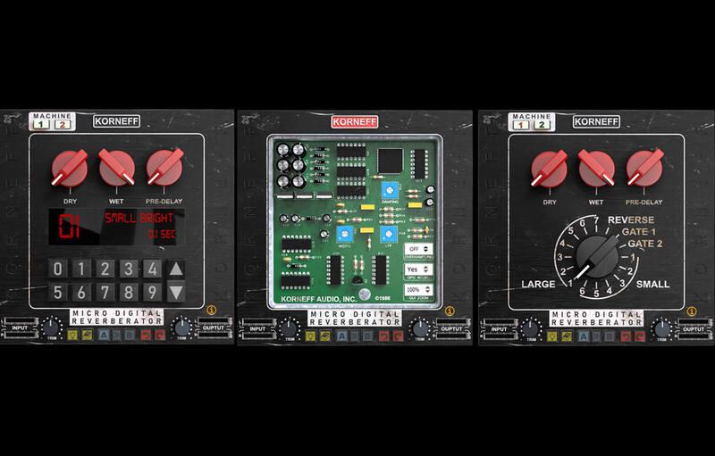 Micro Digital Reverberator