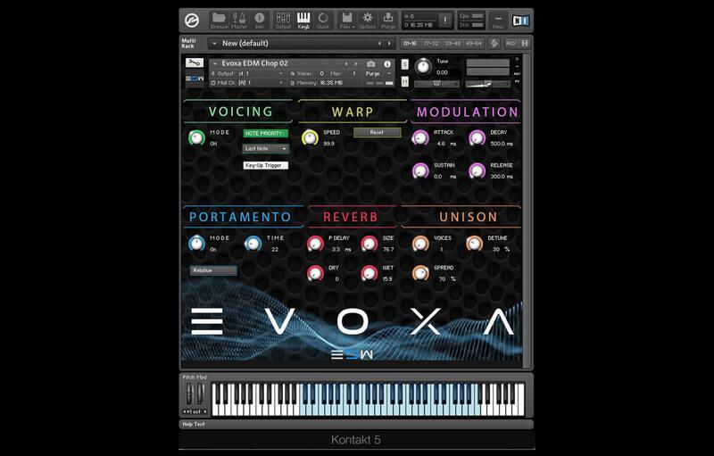 EVOXA Vocal Chops Engine